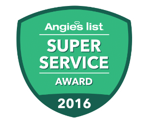 Angie's List Super Service Award Winner 2010-2015