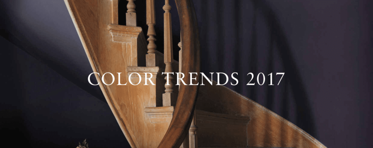 2017 Color Trends of Benjamin Moore paint