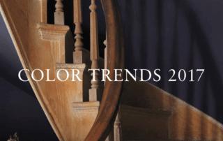 2017 Color Trends of Benjamin Moore paint