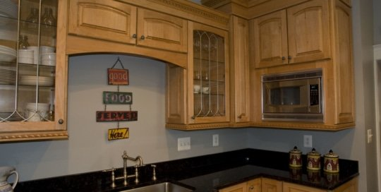 Remodeled Home Kitchen in Roland Park, MD
