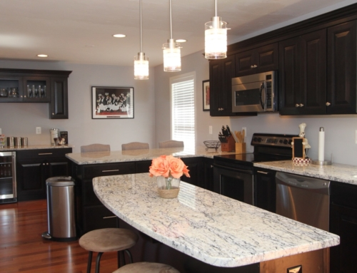 Fallston Espresso Transitional Kitchen