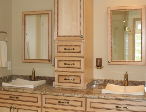 Forest Hill Custom Maple Glaze Bathroom
