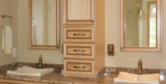 Maple cabinetry