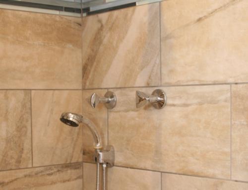 Northwood Colorful Bathroom Remodel