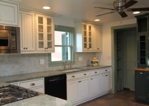 Custom Home Kitchen w/ Vintage Touches