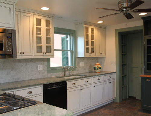Fallston Custom Kitchen with Vintage Touches