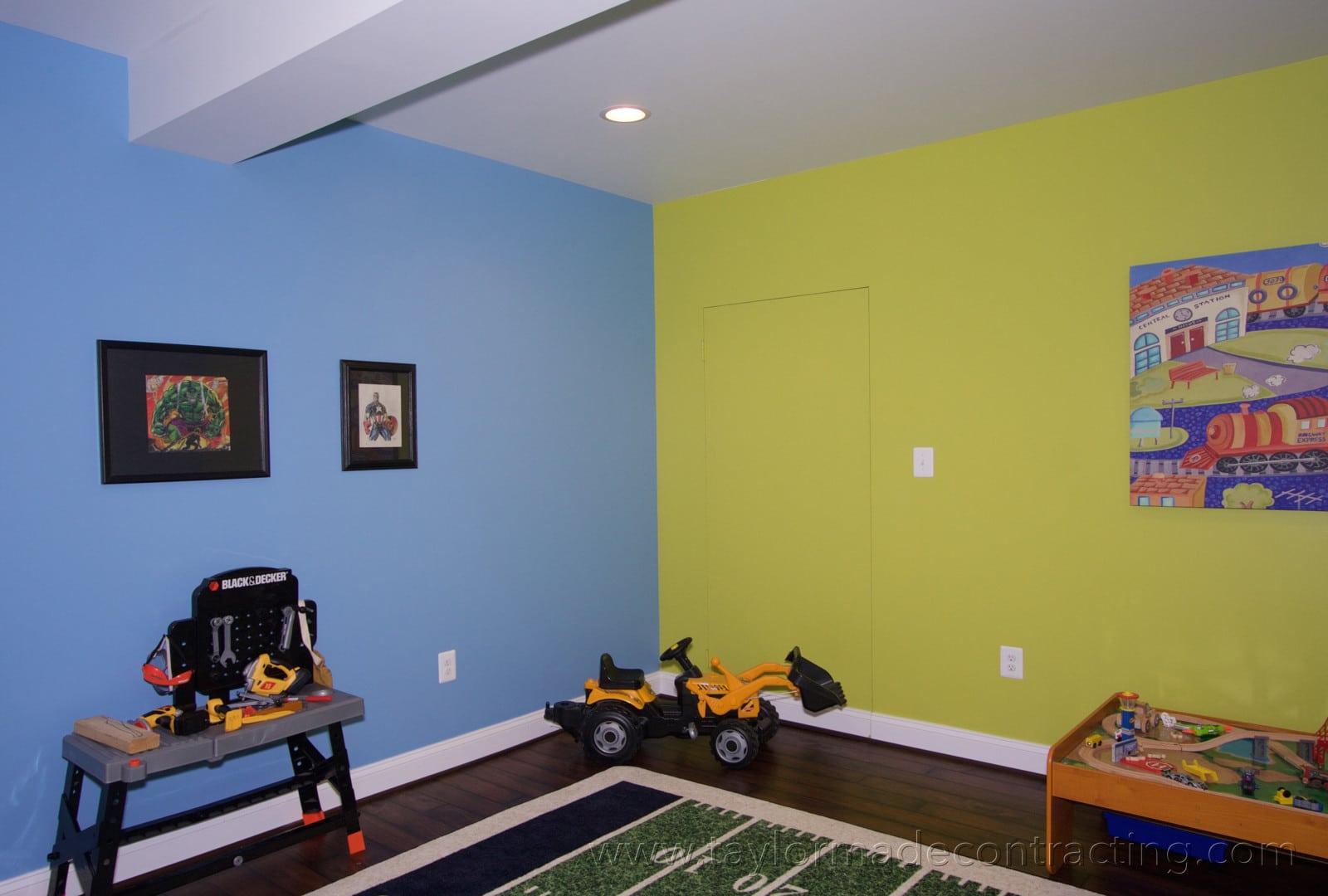 playroom area