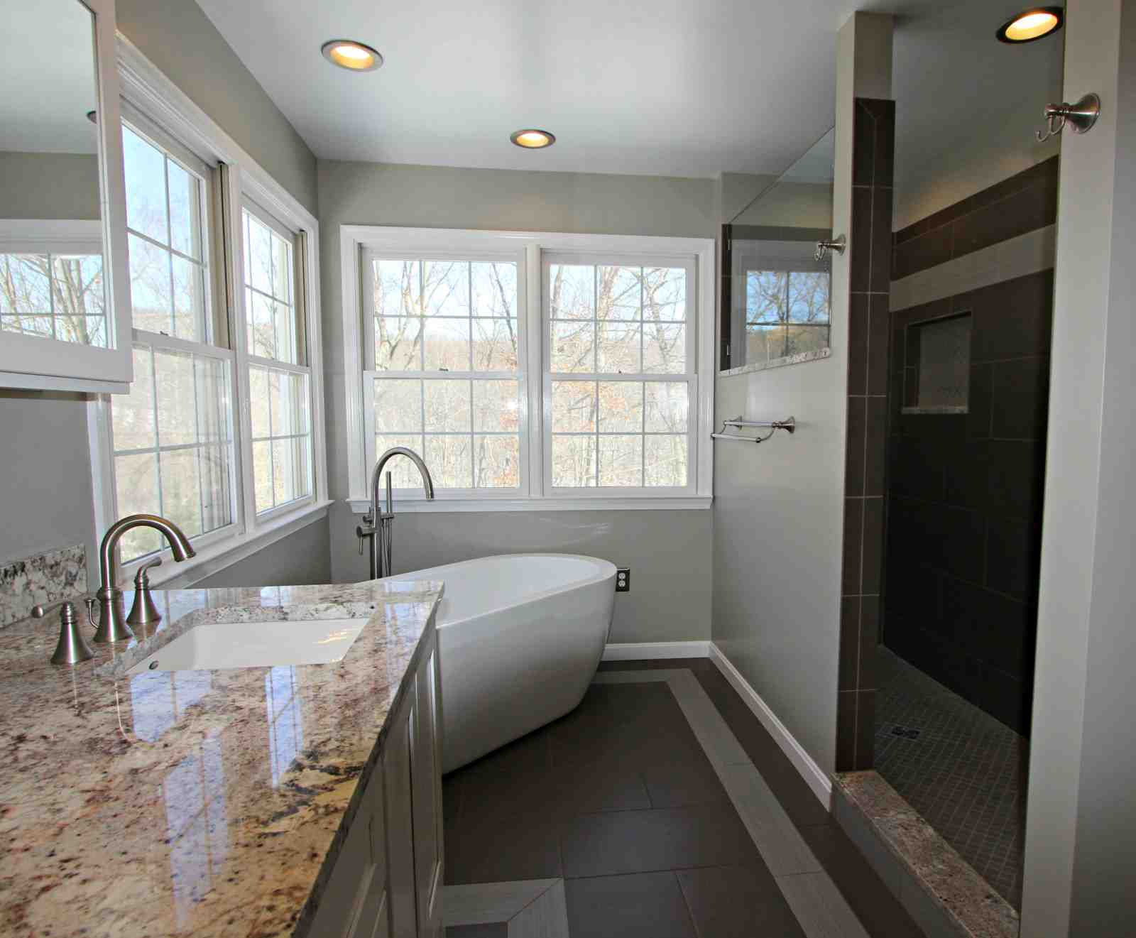 Bathroom Remodel With Freestanding Tub