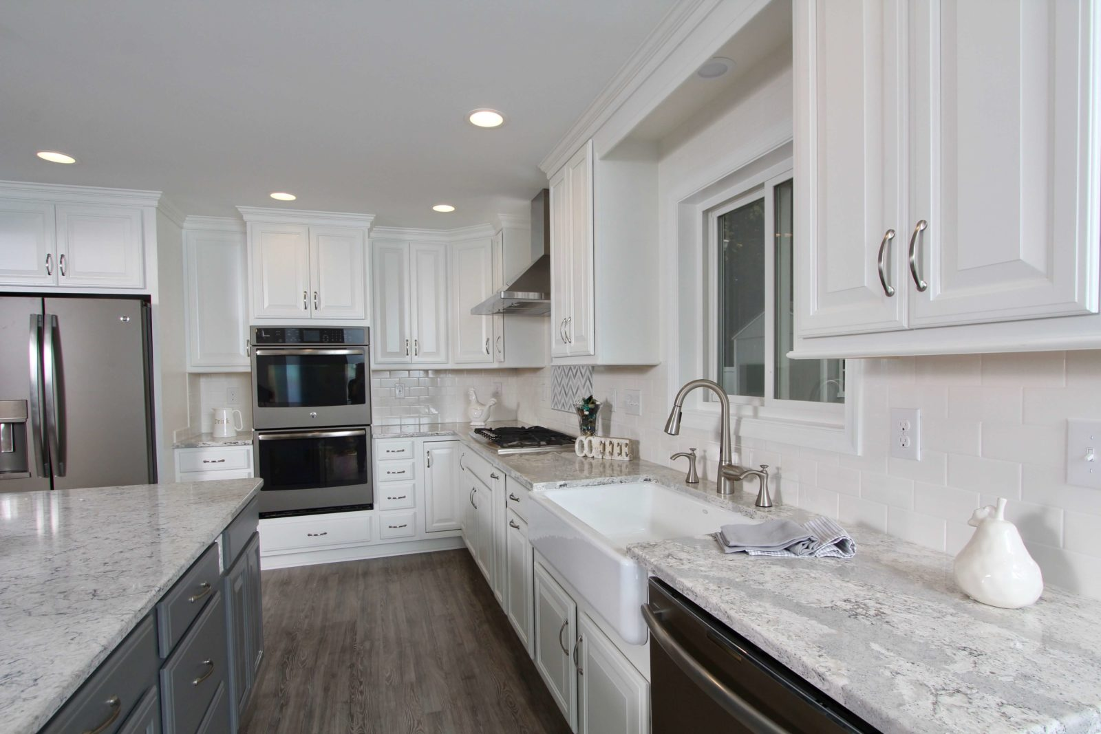Kitchen Remodeling Bel Air Grey Mosaic Taylor Made Custom - Kitchen remodeling bel air md