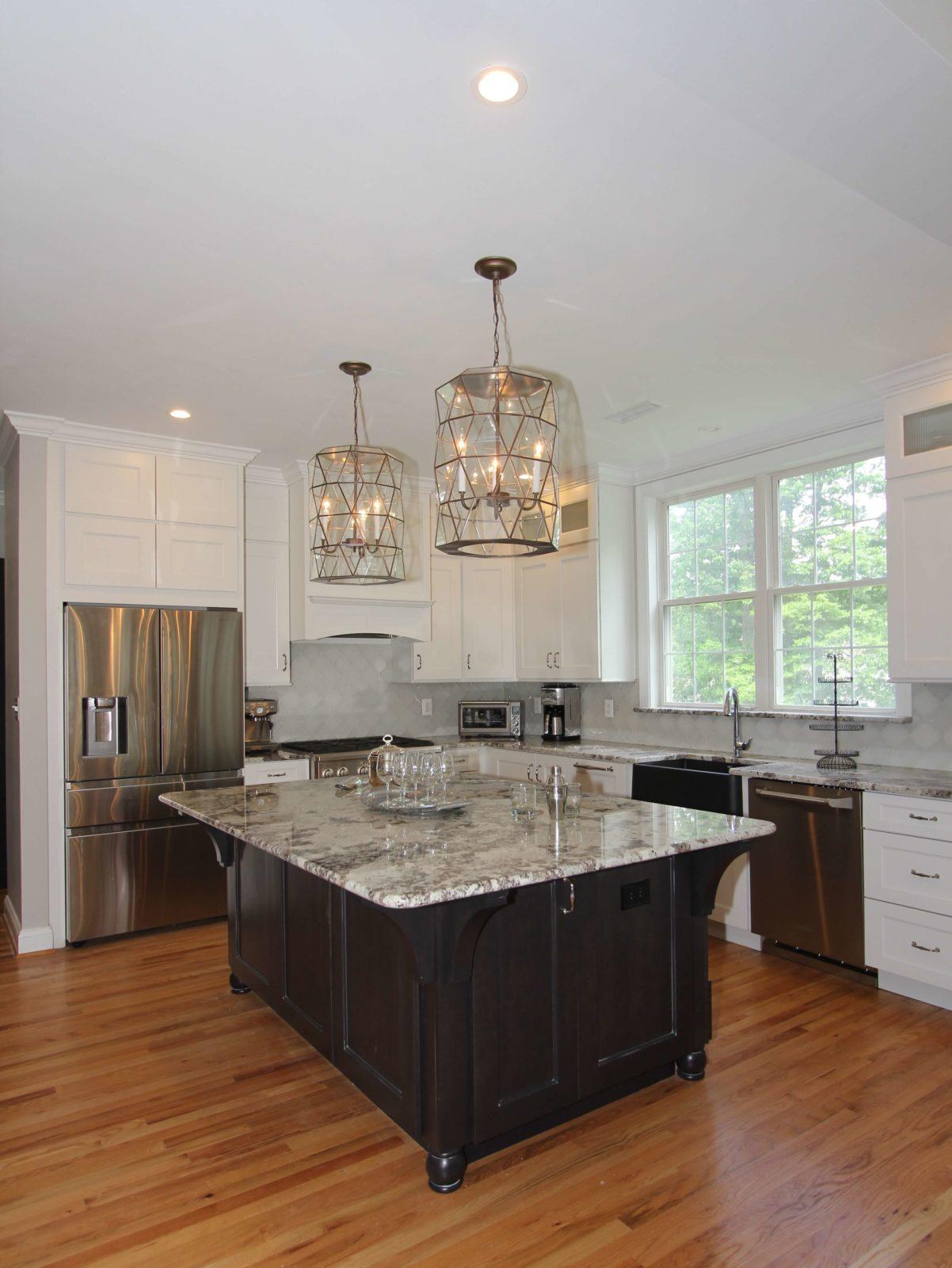 Kitchen Remodeling: Monkton Elegant Pendant Light | Taylor Made Custom  Contracting, Inc.