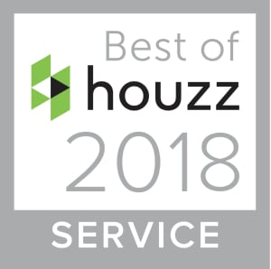2018 Best Service Award from Houzz