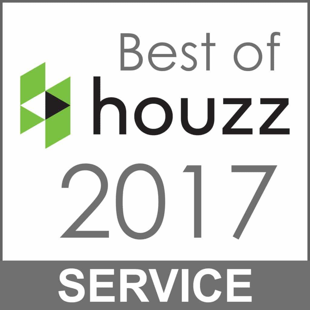 2017 Best Service Award from Houzz