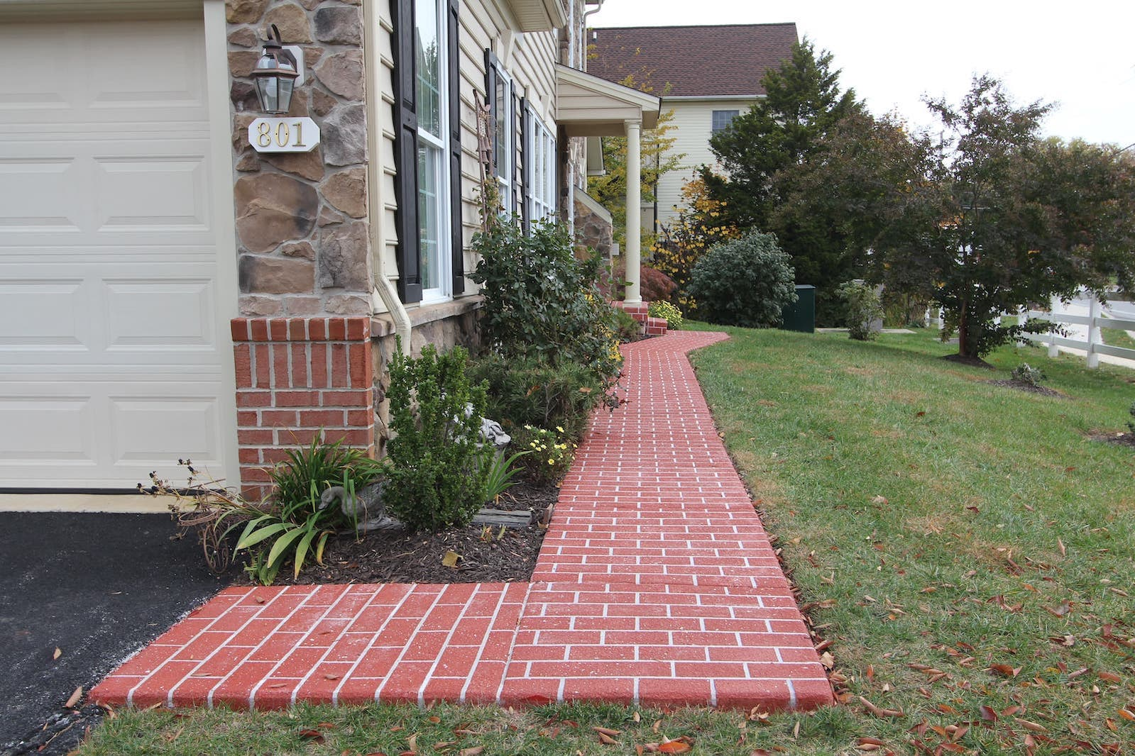 Forest Hill Stamped Concrete Sidewalk | Taylor Made Custom ...