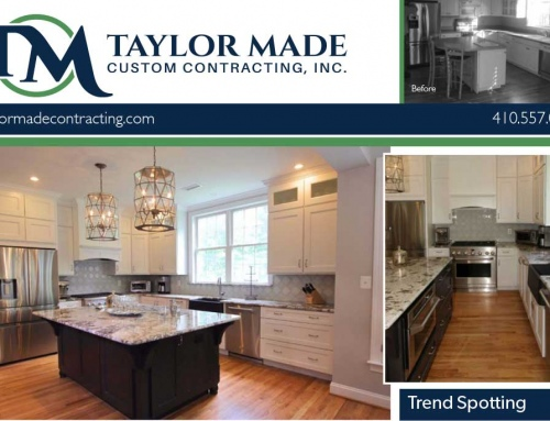 Monkton kitchen remodel spotlight in our March newsletter