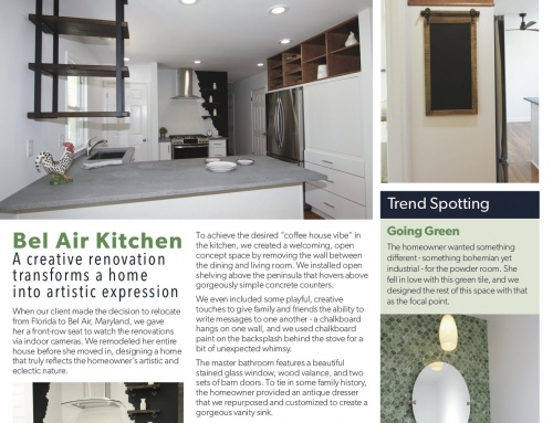 Bel Air Whole House Remodel – Spotlight In Our Print Newsletter