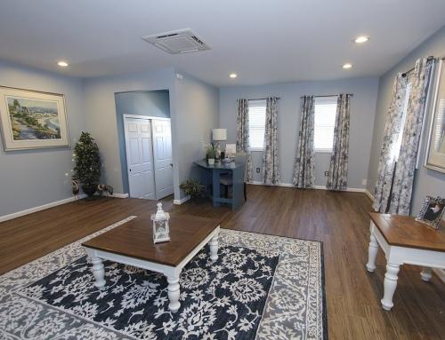 Jarrettsville Garage Becomes Family Room