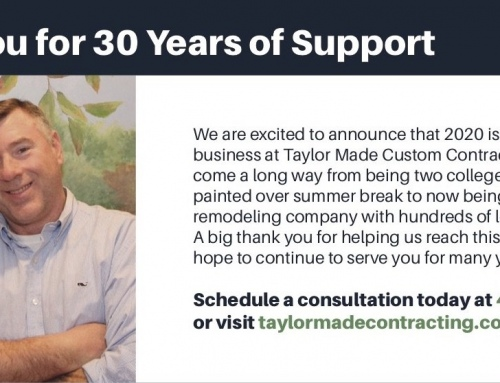 Thank You for 30 Years of Support