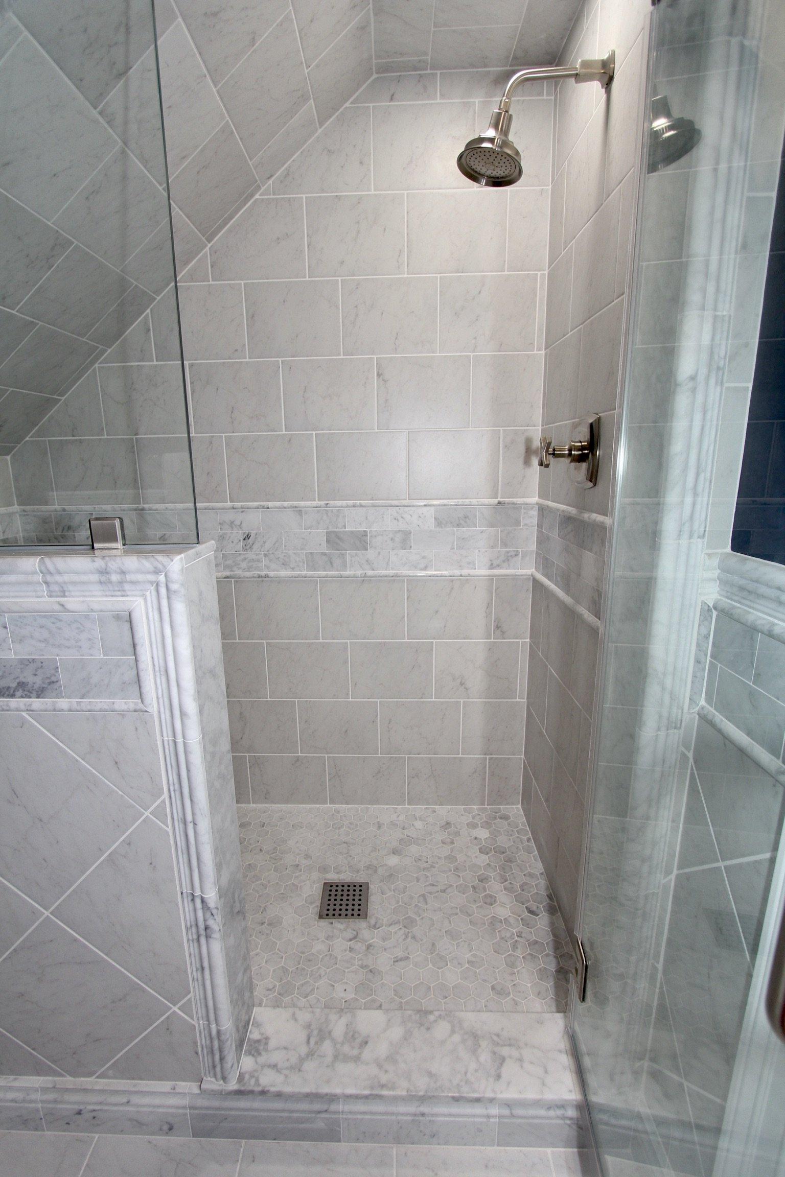 Monkton Marble Shower