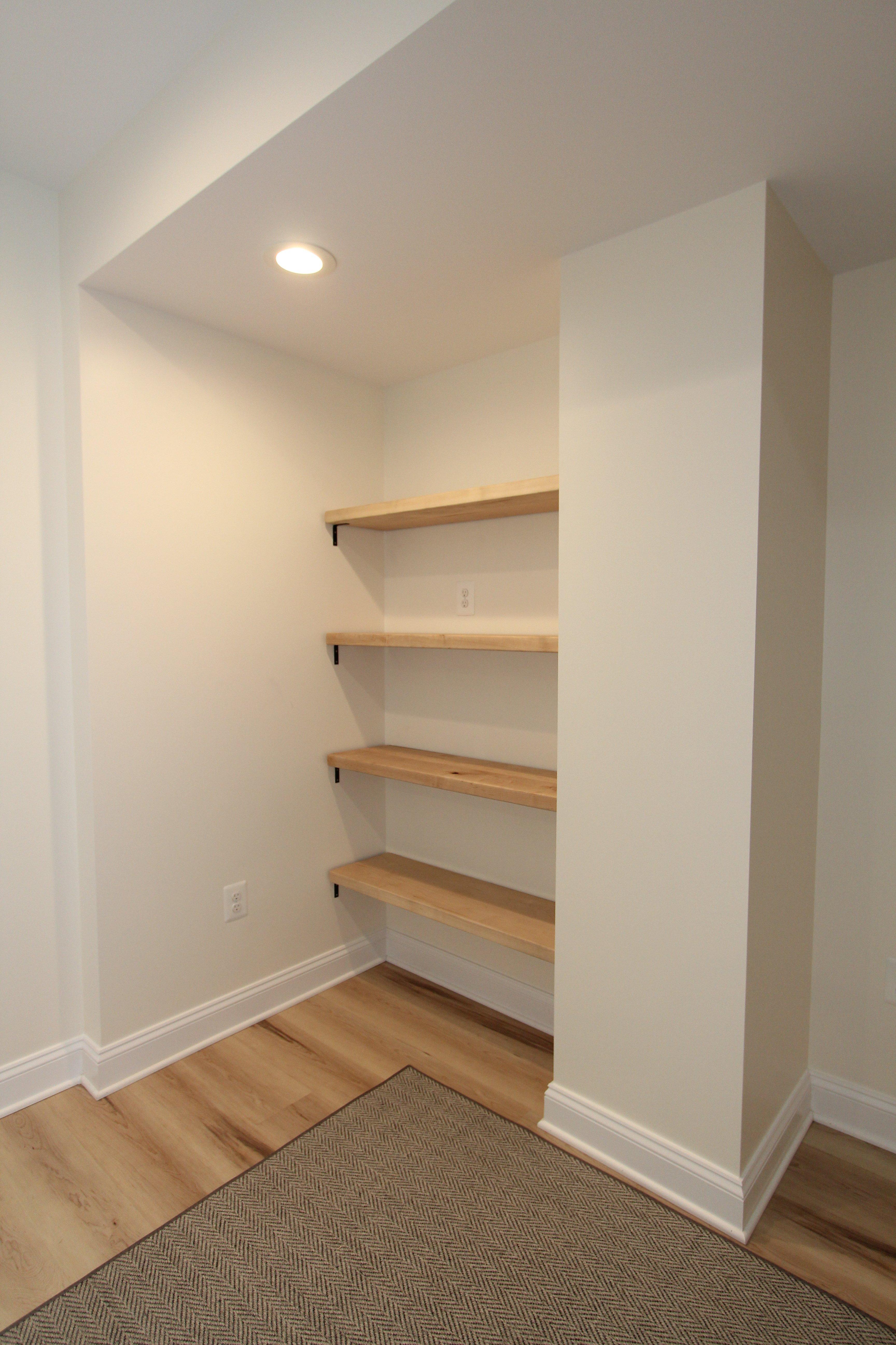 Monkton Basement Shelves
