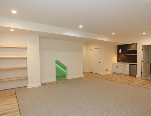 Monkton Children's Cubby Playroom Basement