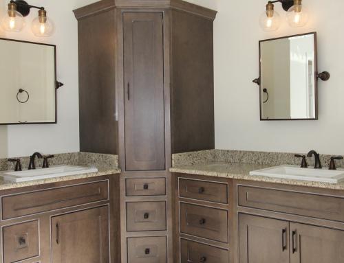 Parkton Updated Rustic Master Bathroom
